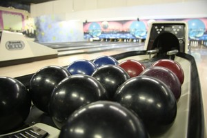 Academy Lanes Ball Rack